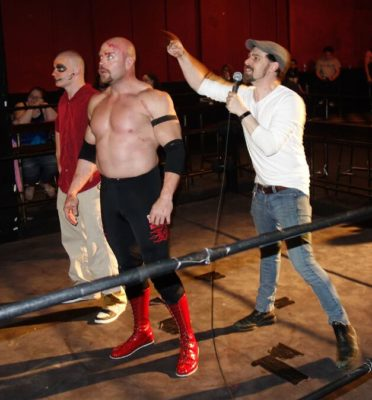 Wrestlers face the new league boss at Hogtown